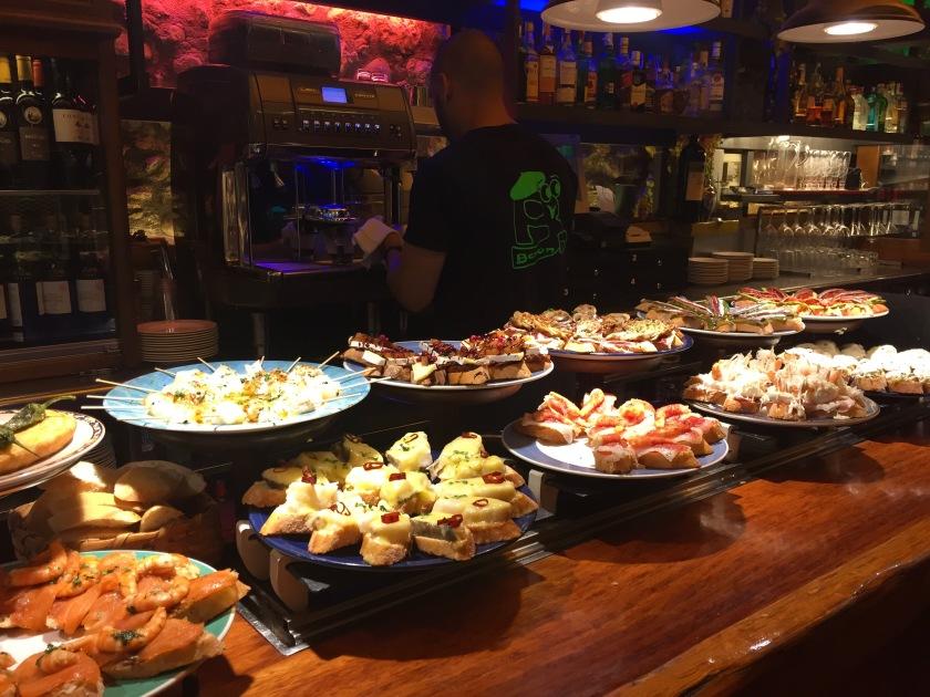 bilbao spain tapas local food