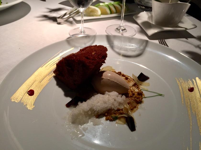chocolate dessert martin berasategui 3 michelin star restaurant basque country san sebastian spain