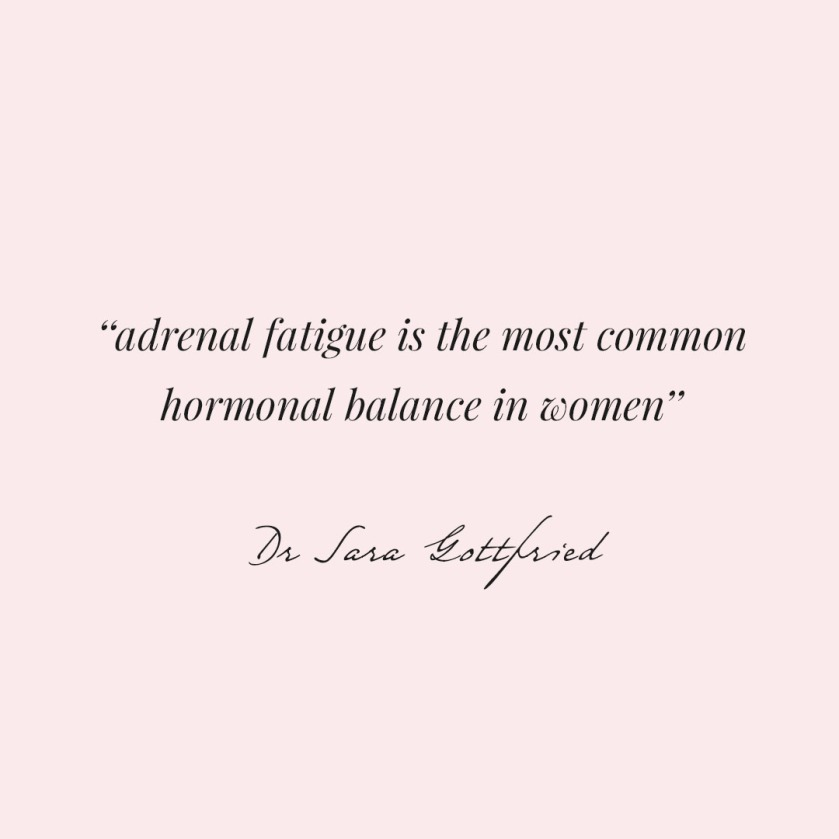 adrenal fatigue quote